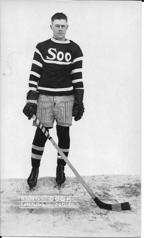 "Fred ""Bun"" Cook - Soo Greyhounds 1921"