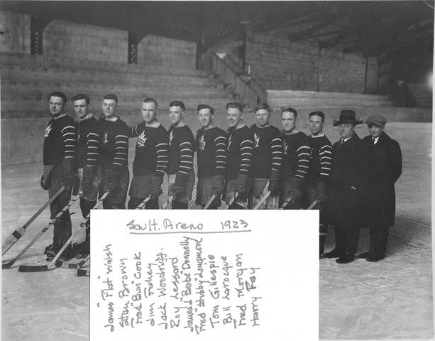 Soo Greyhounds 1923 Roster