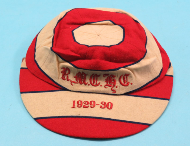 Royal Artillery Cadet Hockey Club Sporting Cap 1929 Royal Military College