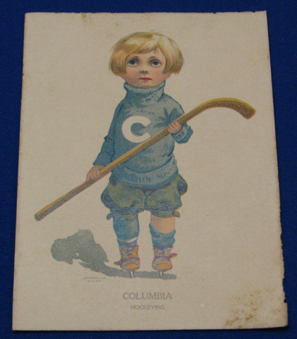 Columbia Hockeying 1907 Columbia University Ice Hockey
