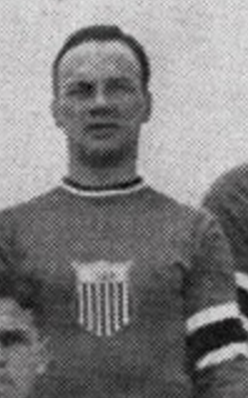 "Winthrop ""Ding"" Palmer United States Men's National Ice Hockey Team 1932"