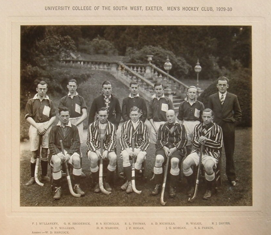 University College of the South West of England Men's Hockey Club 1929