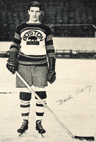 Marty Barry Boston Bruins 1930