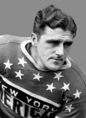 Johnny Gallagher New York Americans 1939