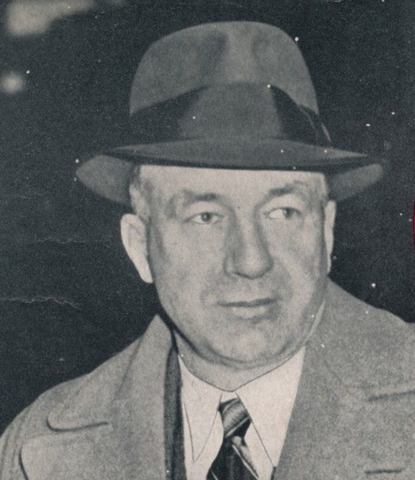 Art Ross Boston Bruins Coach 1939