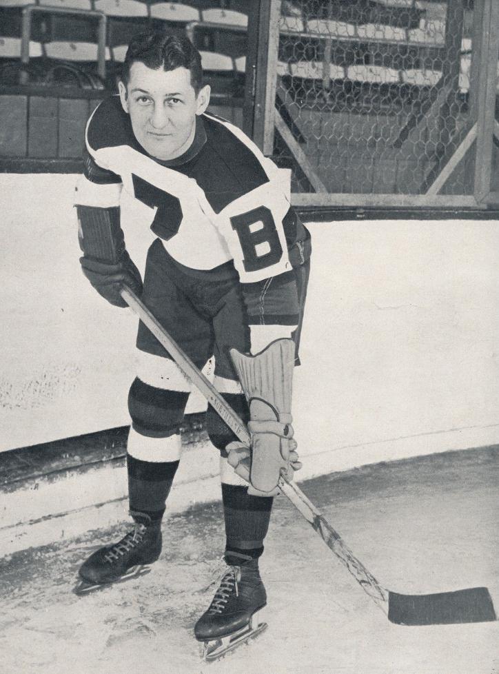 Cooney Weiland Boston Bruins 1939 Hockeygods