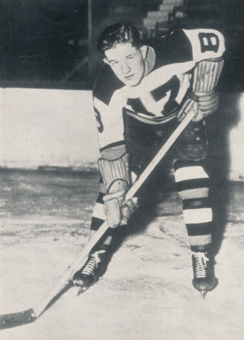 Bobby Bauer Boston Bruins 1939