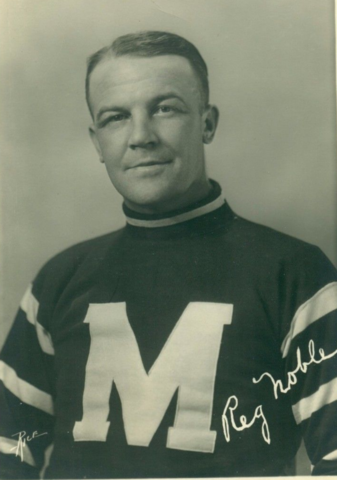 Reg Noble Montreal Maroons 1932