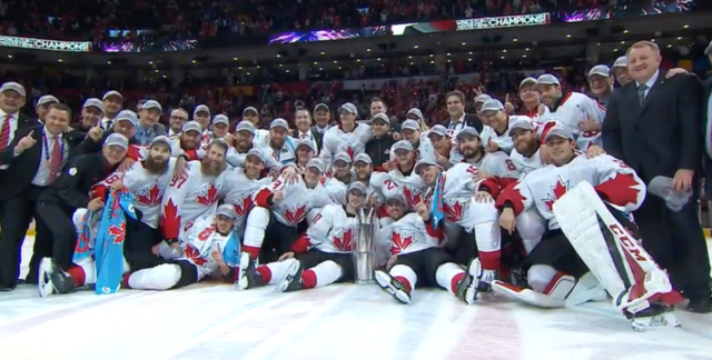 Team Canada World Cup of Hockey Champions 2016