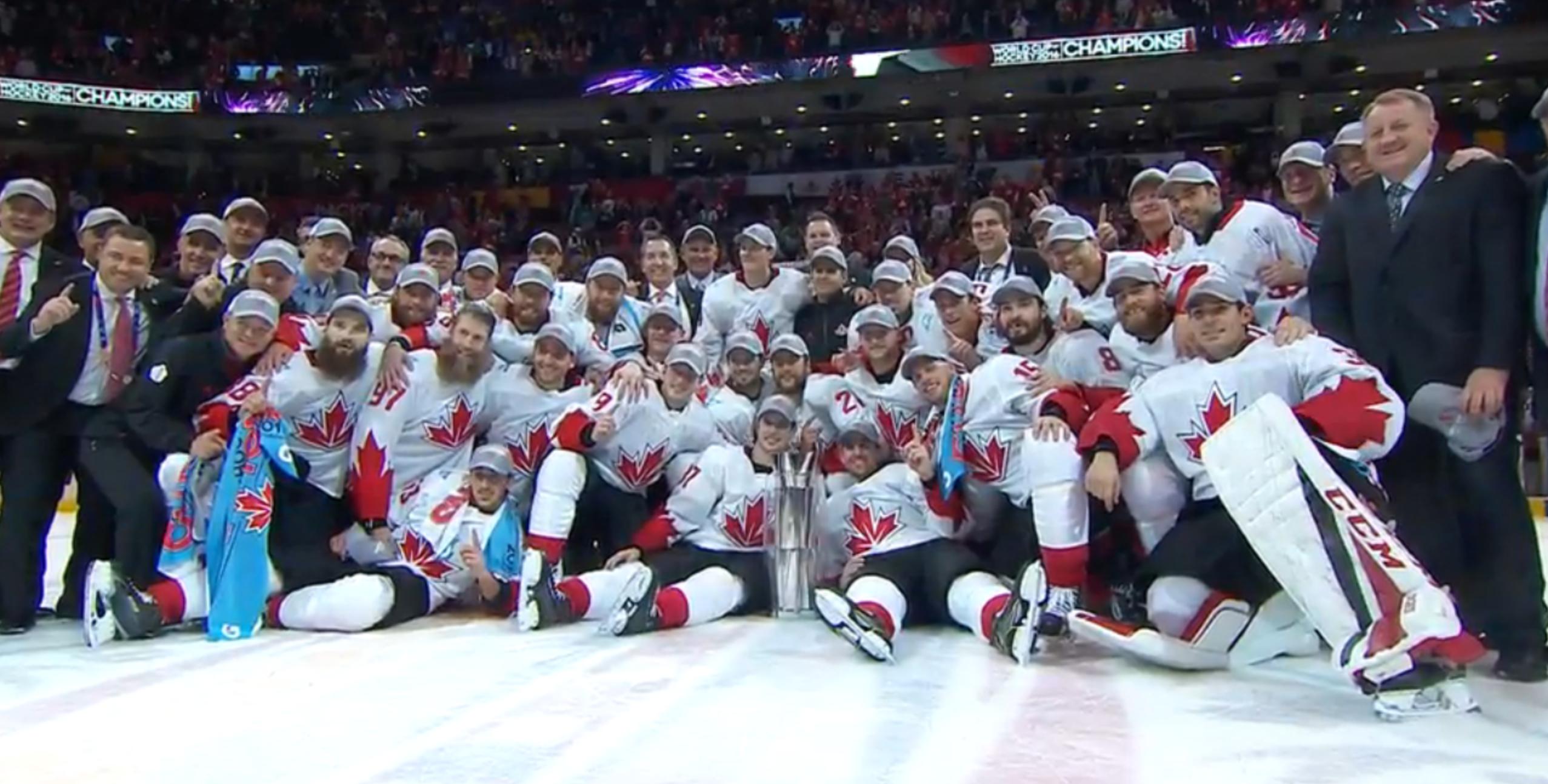 c63fd801176 Team Canada World Cup of Hockey Champions 2016