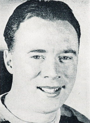 "Mel ""Sudden Death"" Hill Boston Bruins 1941"
