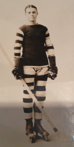 Johnny Manser Dartmouth College Hockey Team Captain 1926