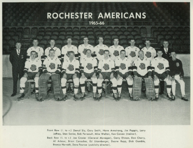 Rochester Americans 1965-66 American Hockey League