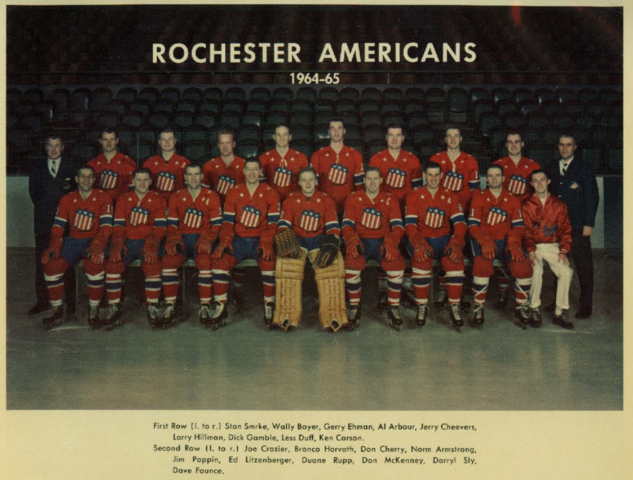Rochester Americans 1965 American Hockey League