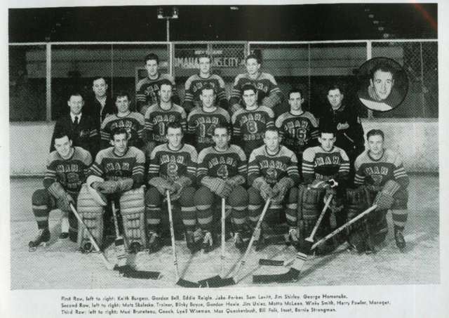Omaha Knights 1948 American Hockey League