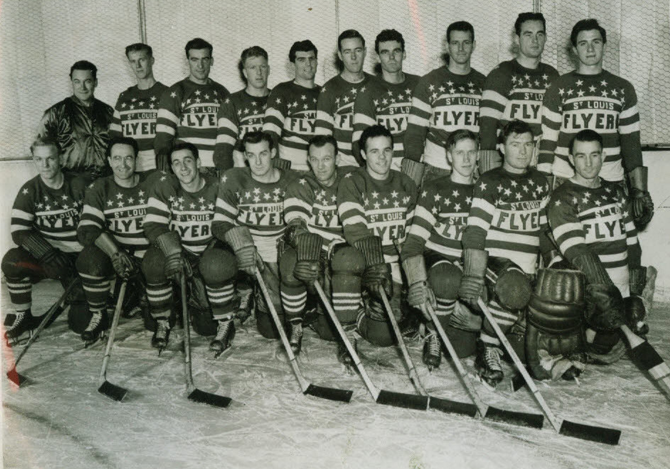 St Louis Flyers 1945 American Hockey League Hockeygods