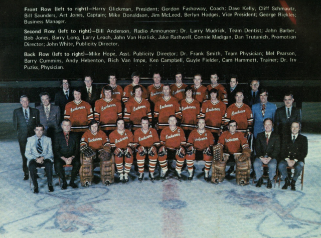 Portland Buckaroos 1971 Western Hockey League