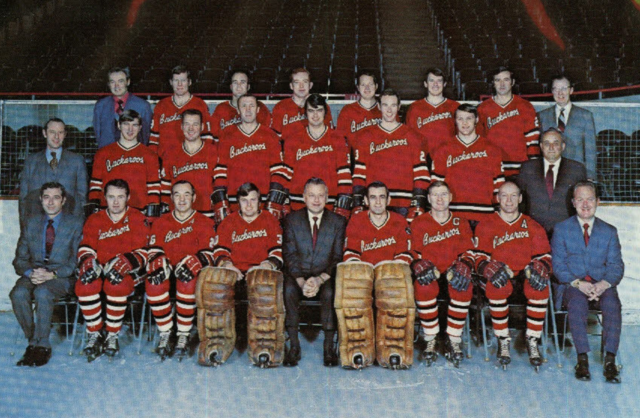 Portland Buckaroos 1970 Western Hockey League