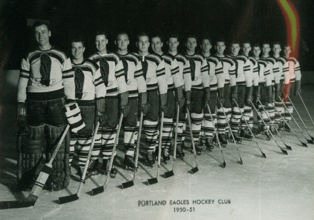 Portland Eagles Hockey Club 1950 Pacific Coast Hockey League