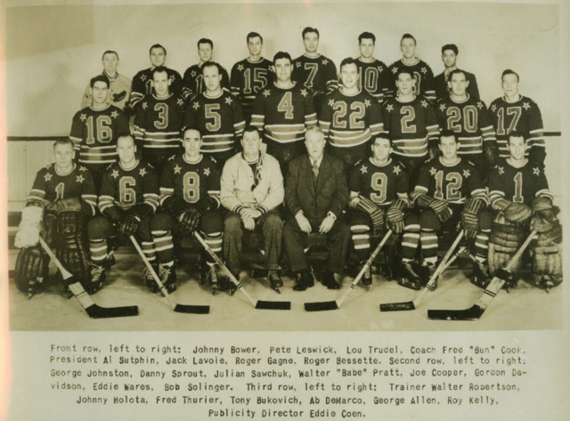 Cleveland Barons 1947 American Hockey League Hockeygods