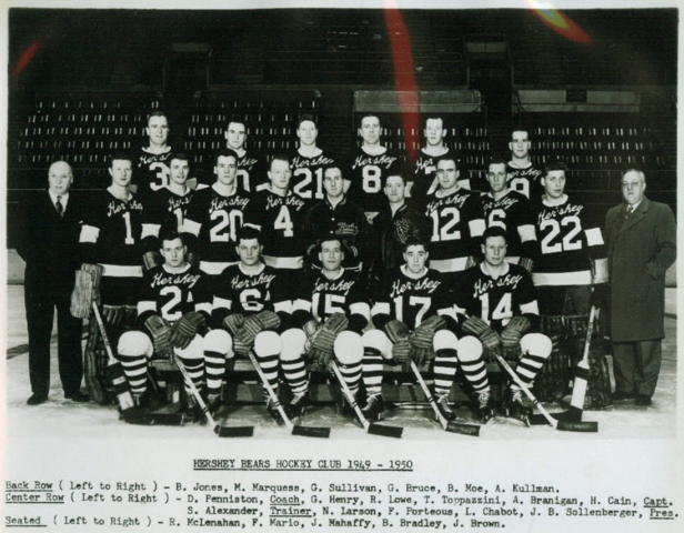 Hershey Bears 1949 American Hockey League