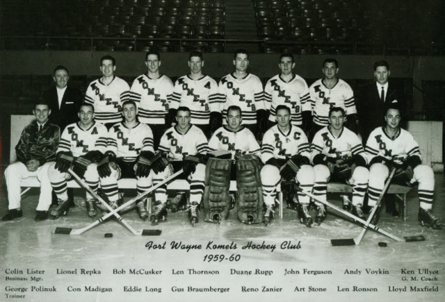 Fort Wayne Komets 1959 International Hockey League