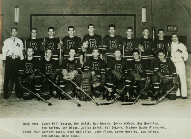 New York Rovers 1949 Eastern Hockey League / EHL