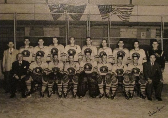Valleyfield Braves 1950  Quebec Senior Hockey League