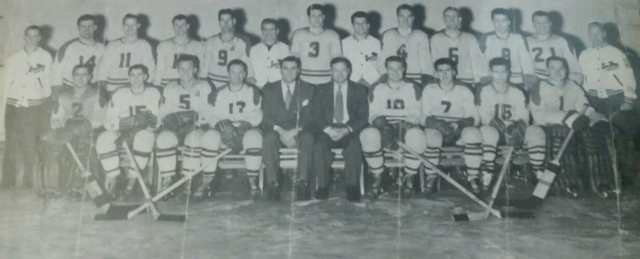 San Diego Skyhawks 1948-49 Pacific Coast Hockey League Champions