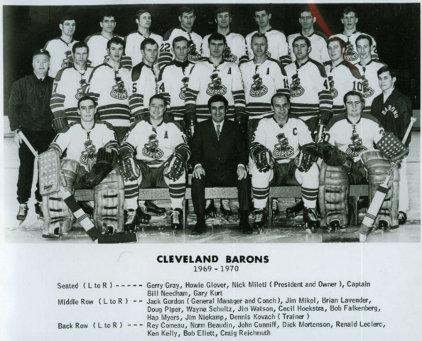 Cleveland Barons 1969-70 American Hockey League / AHL