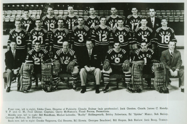 Cleveland Barons 1959 American Hockey League / AHL