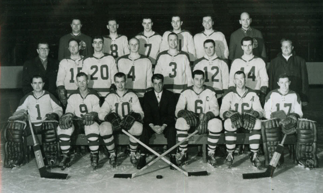 Sault Ste. Marie Greyhounds 1951 Northern Ontario Hockey Association