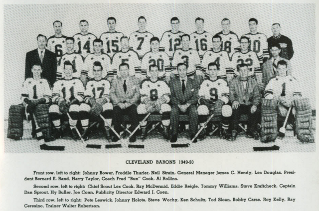 Cleveland Barons 1949 American Hockey League / AHL