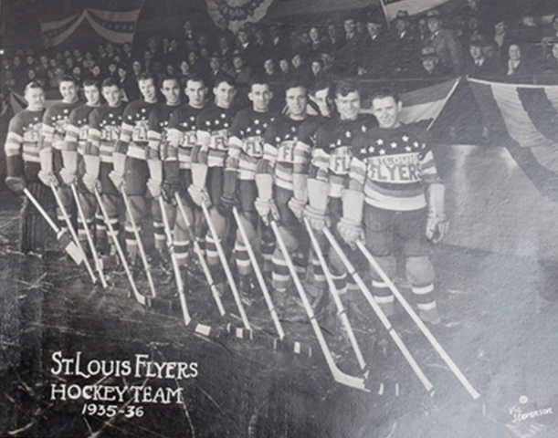 St. Louis Flyers 1935-36 American Hockey Association Champions