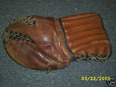 Hockey Glove 1930s Spalding 1b