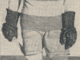 Reg Noble 1929 Detroit Cougars Captain