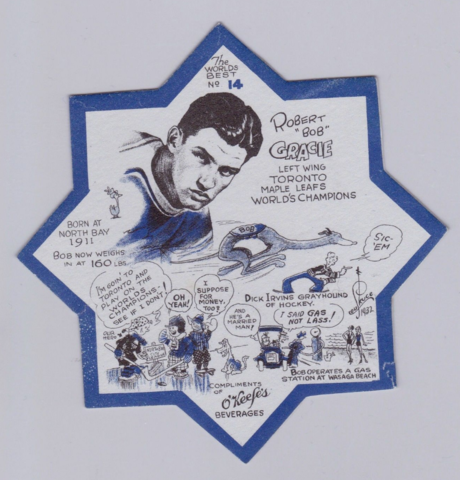 "Robert ""Bob"" Gracie O'Keefe's Coaster No14"
