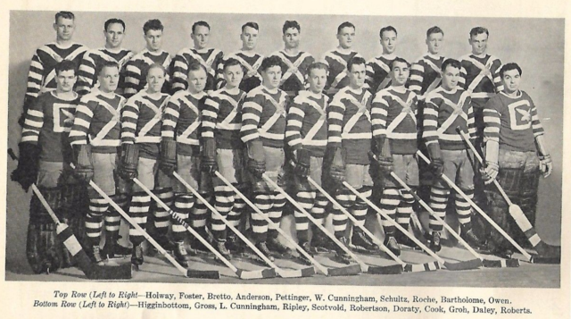 Cleveland Falcons 1936  International-American Hockey League