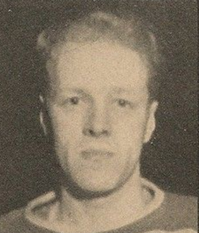 Les Cunningham 1936 Cleveland Falcons / Cleveland Barons