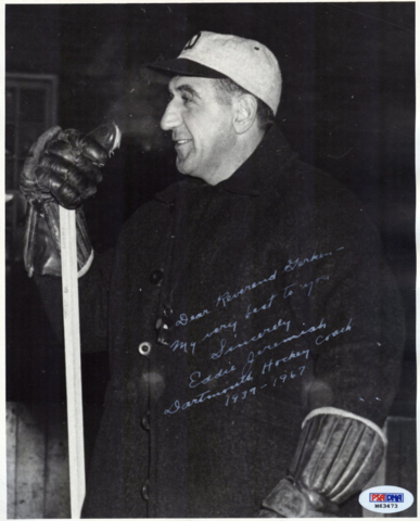 Eddie Jeremiah - Dartmouth Hockey Coach 1937-1967