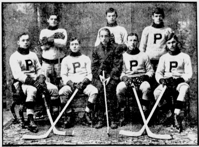 Pembroke Hockey Club, 1911