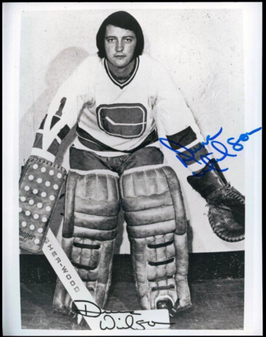 Dunc Wilson 1972 Vancouver Canucks