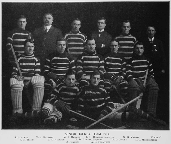 McGill University Redmen, 1912–13