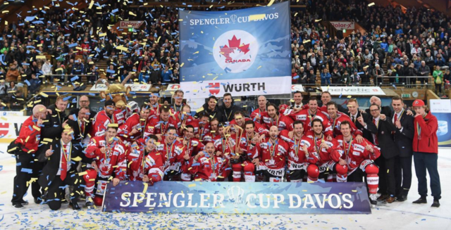 Team Canada 2016 Spengler Cup Champions