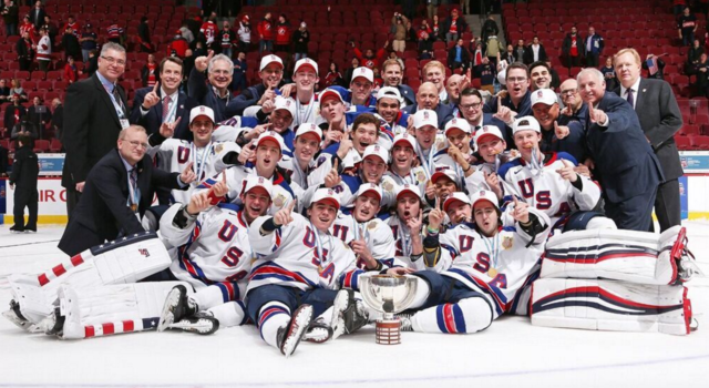 U.S. National Junior Team / USA Hockey 2017 IIHF World Junior Hockey Champions