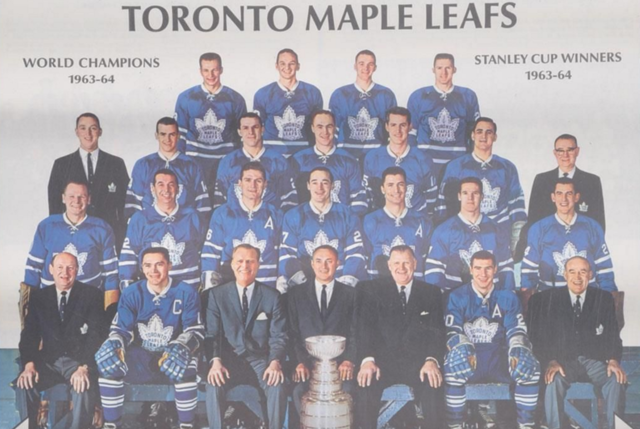 Toronto Maple Leafs 1964 Stanley Cup Champions