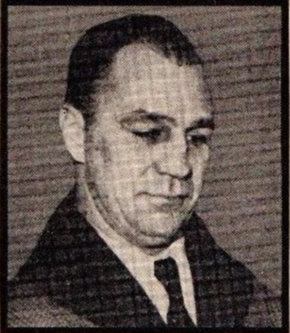 Harry Westerby 1937 New York Rangers Trainer