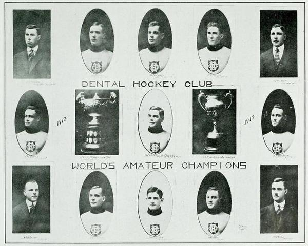 Toronto Dentals / Dental Hockey Club 1917 Allan Cup Champions