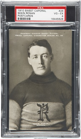 Skein Ronan Hockey Card 1910 Sweet Caporal Postcards