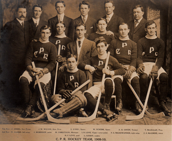 C.P.R. Hockey Team 1909